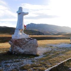 Il monumento di Fonte Vetica. Settembre 2013