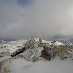 Dall'entrata della Rocca. Gennaio 2016
