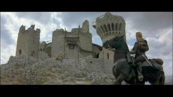"""La Rocca in """"Ladyhawke"""" (1985) di Richard Donner, che nel film rappresenta la dimora di Imperius"""