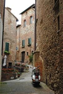 Uno scorcio di Montepulciano. Giugno 2016