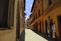 Via di Voltaia nel Corso, Montepulciano. Giugno 2016