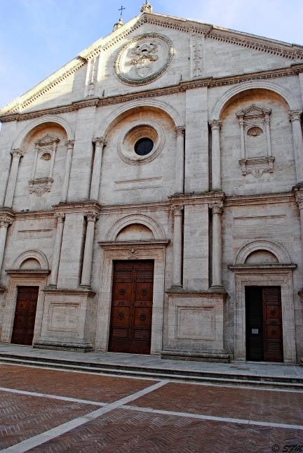 Il Duomo di Pienza. Giugno 2016